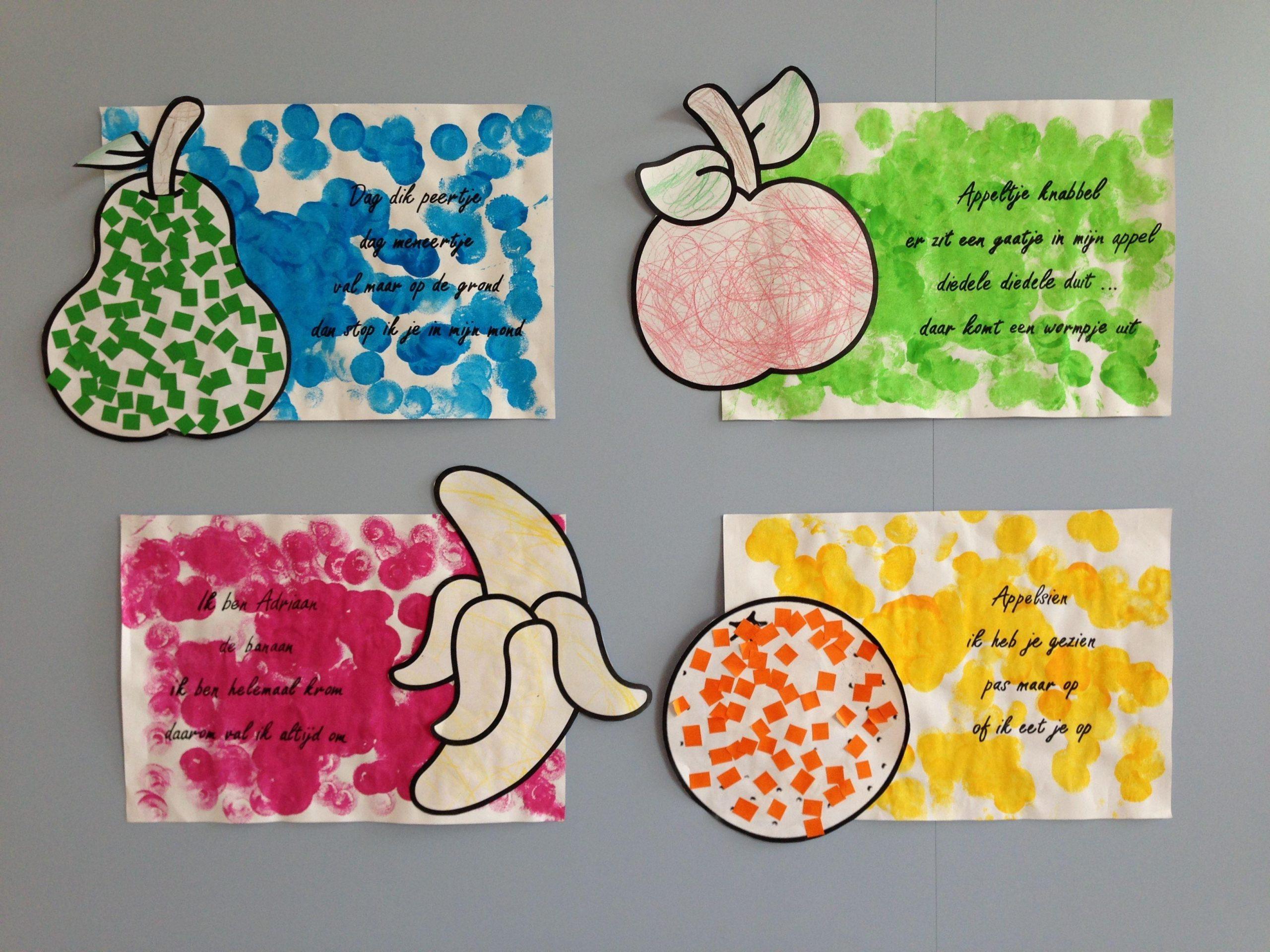 Voorschoolse Werkbladen Over Groenten En Fruit 1