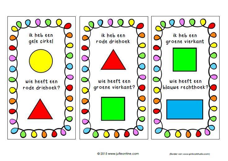Voorschoolse Werkbladen Over Vormen 5
