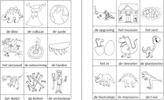 Voorschoolse Werkbladen Rijmwoorden 4