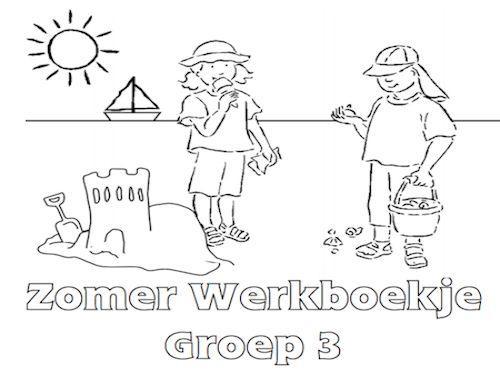 Voorschoolse Werkbladen Zomer 8