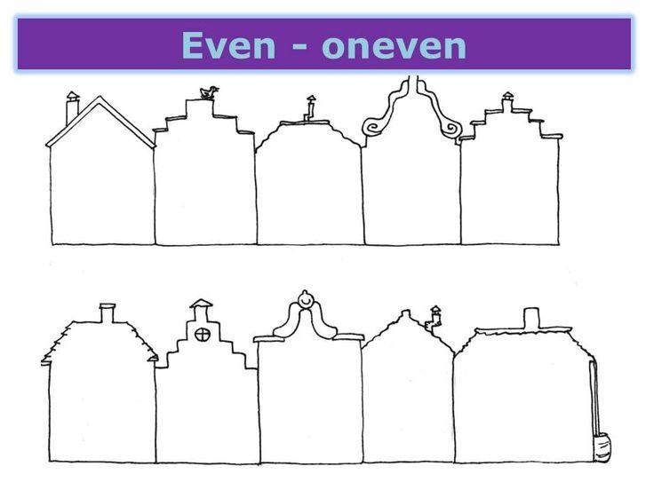Wiskunde Werkbladen Even En Oneven Getallen 4