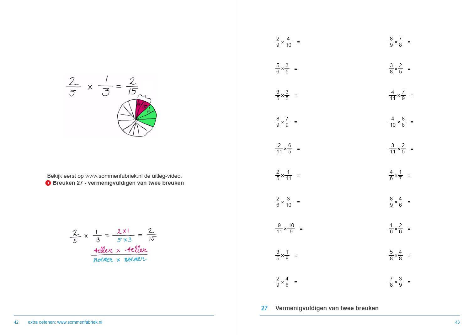 Wiskunde Werkbladen Groep 6 6
