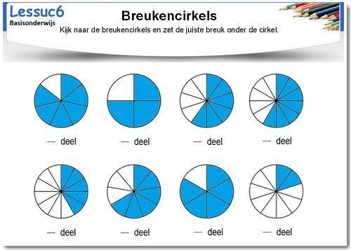 Wiskunde Werkbladen Kleuren 7