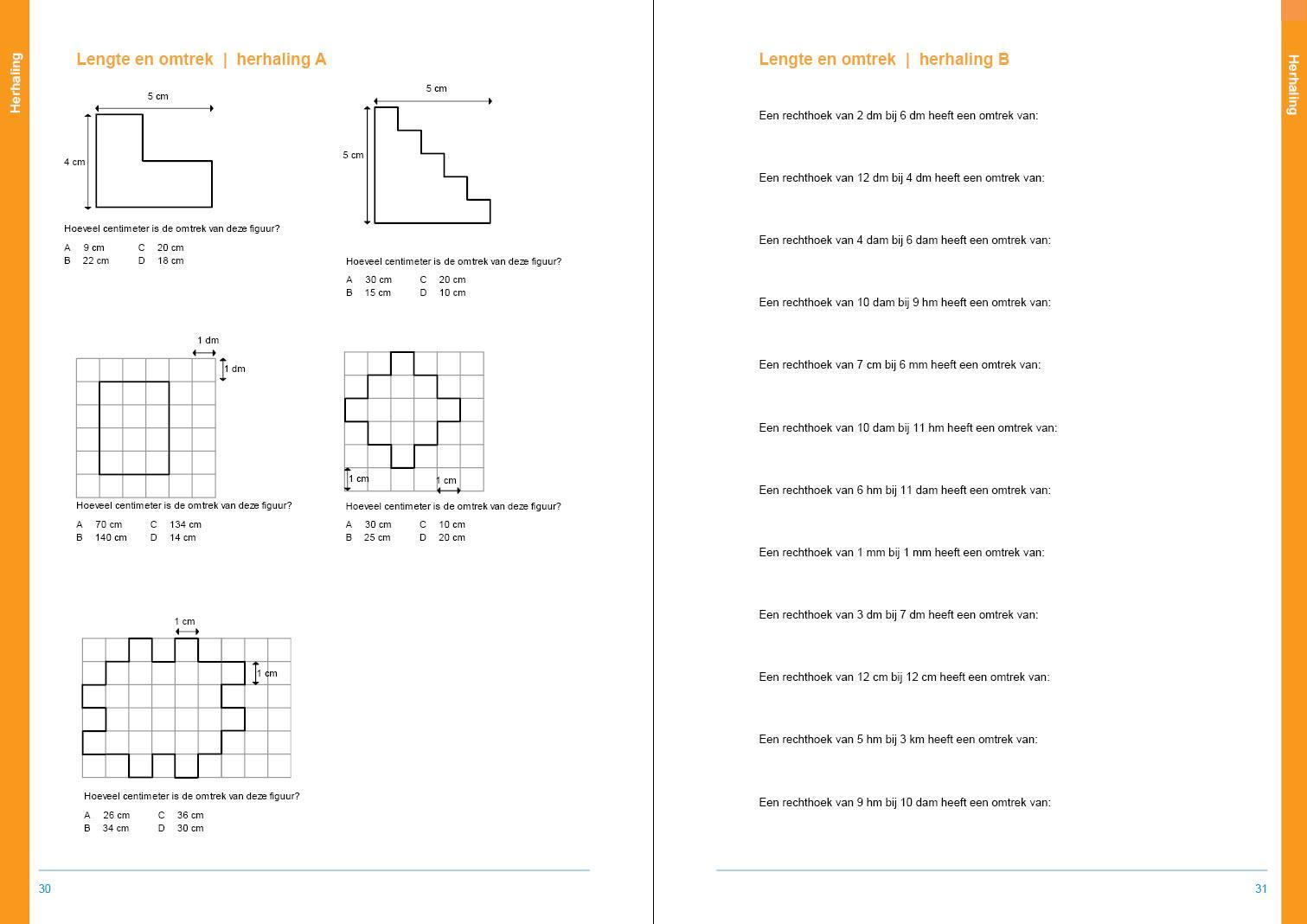 Wiskunde-werkbladen Moeilijk 9