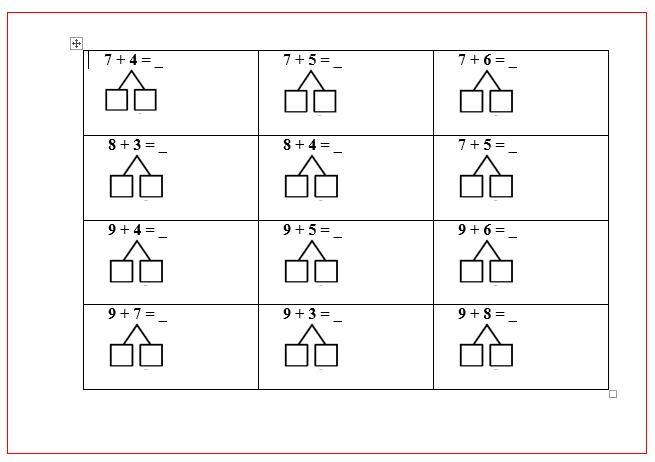 Wiskunde Werkbladen Optellen En Aftrekken Cijfer 3 3