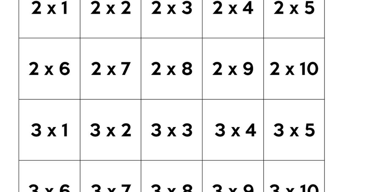 Wiskunde-werkbladen Standaard 4