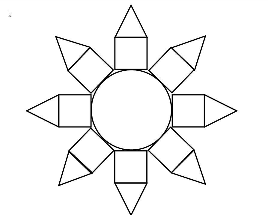 Wiskundige Werkbladen Uitgevouwen Vorm 2
