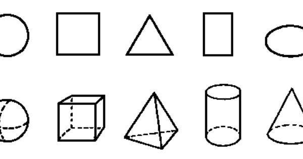 Wiskundige Werkbladen Uitgevouwen Vorm 6