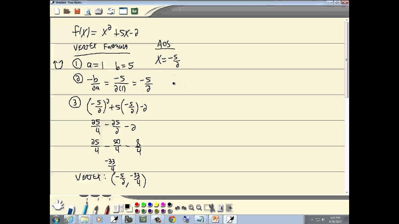 Algebra Werkbladen College 1