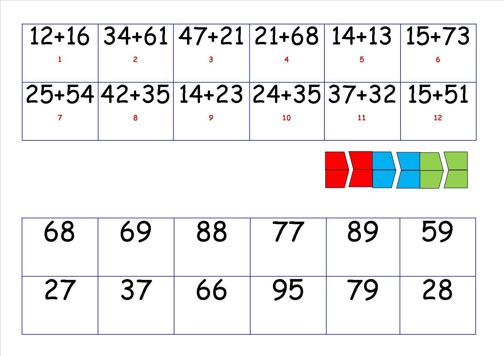 Wiskunde-werkbladen Aftrekken Met Hergroeperen 6