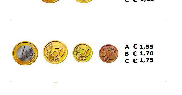 Wiskunde Werkbladen Geld 9