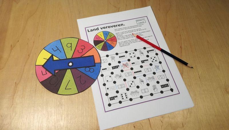 Wiskunde Werkbladen Landoverzicht 5