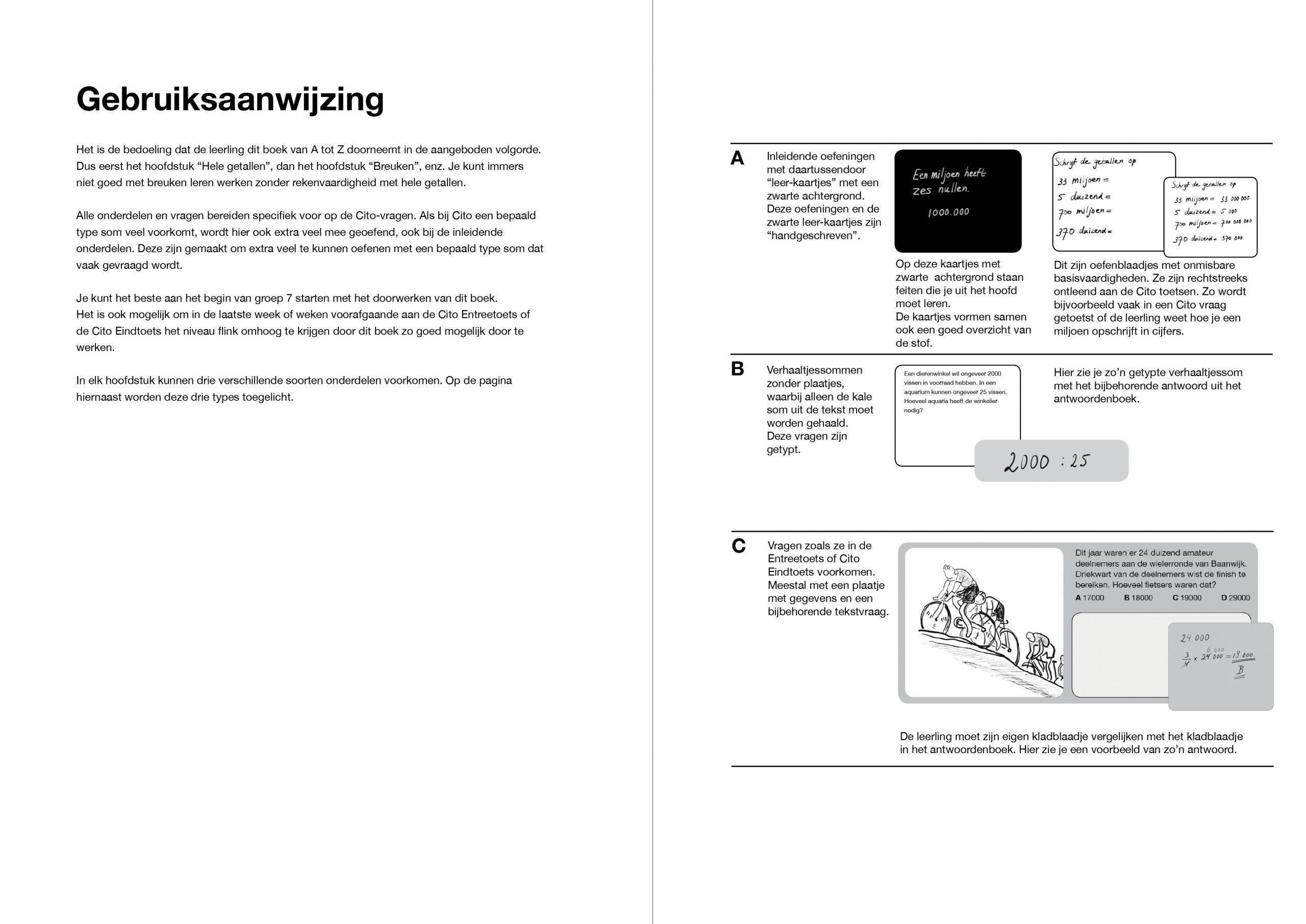 Wiskunde-werkbladen Met Antwoorden 1