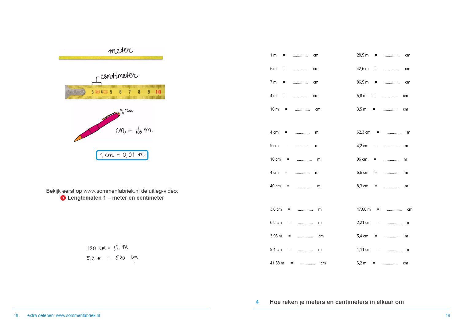 Wiskunde-werkbladen Met Antwoorden 7