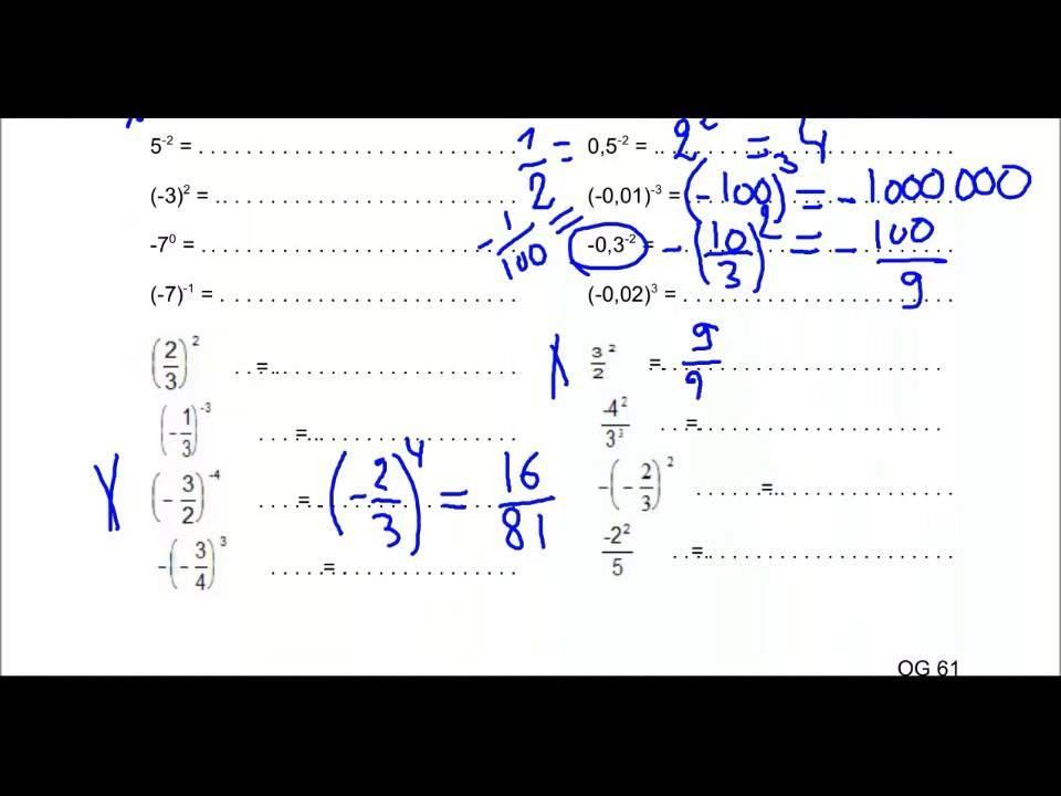 Wiskunde-werkbladen Met Antwoordsleutel 3