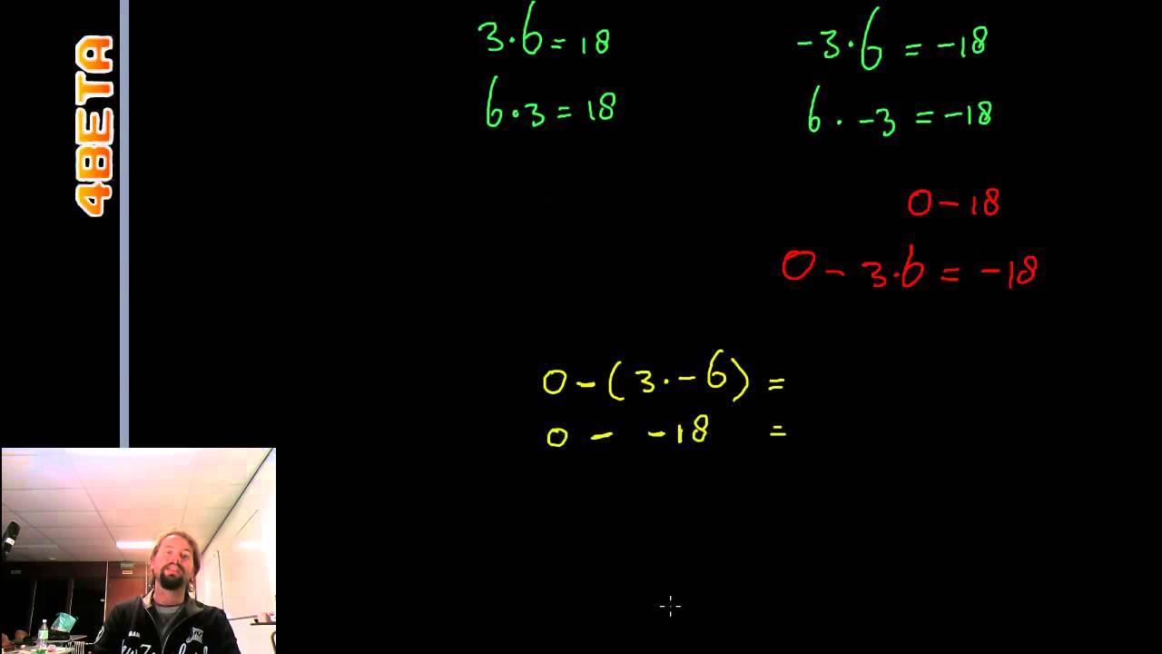 Wiskunde Werkbladen Negatieve Getallen 1
