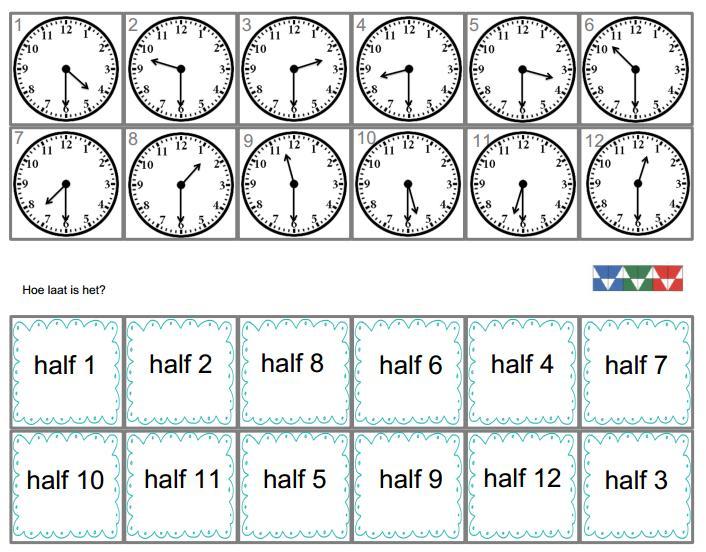 Wiskunde Werkbladen Tijd 5