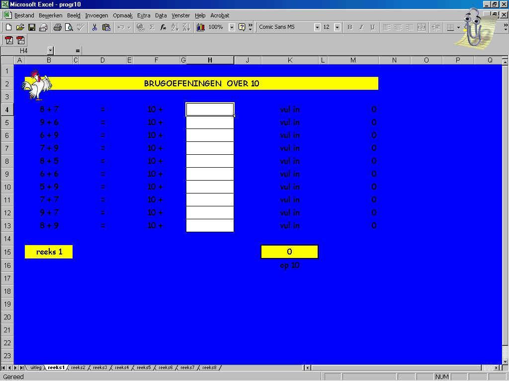 Wiskunde Werkbladen Vermenigvuldiging 3e Leerjaar 8