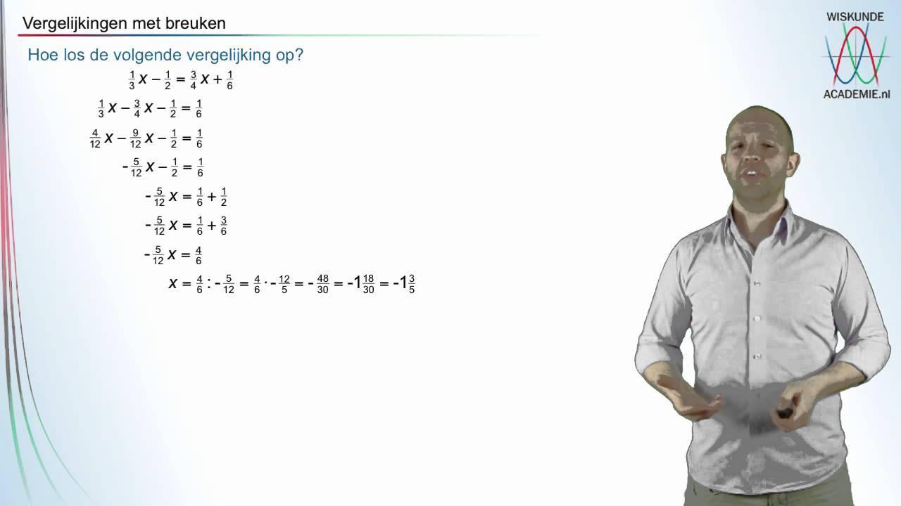 Wiskundige Werkbladen Lineaire Vergelijkingen 4