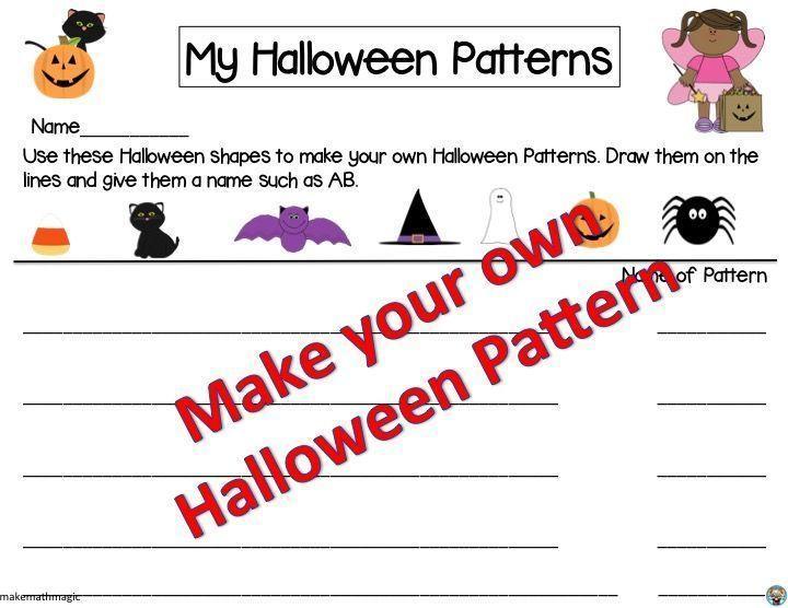 Algebra Halloween-werkbladen 9