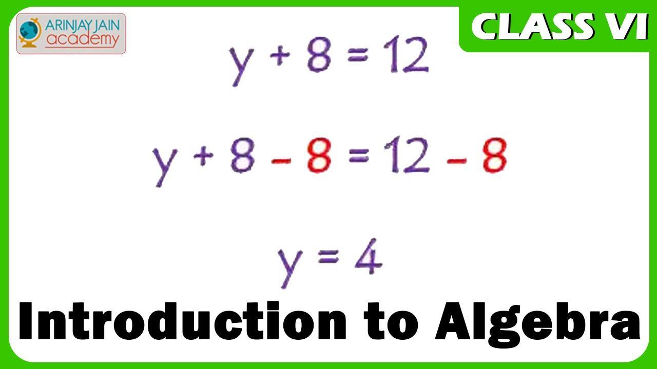 Algebra Introductie Werkbladen 6