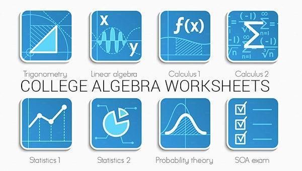 Algebra-werkbladen Doc 4