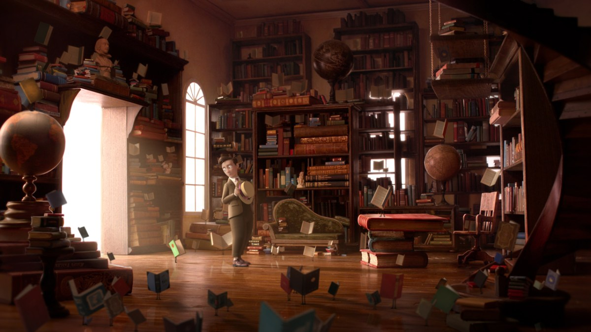 Kurzfilm zum Wochenende: The Fantastic Flying Books of Mr Morris Lessmore (2011)
