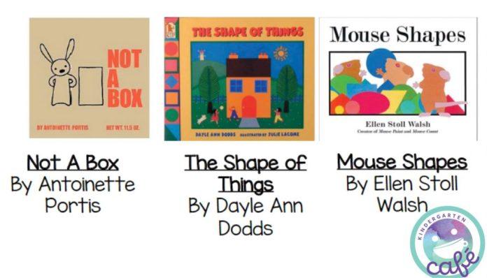 teaching shapes in kindergarten