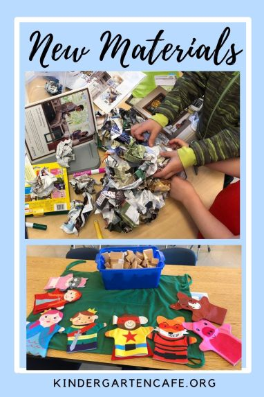 keeping students engaged at the end of the year with new materials