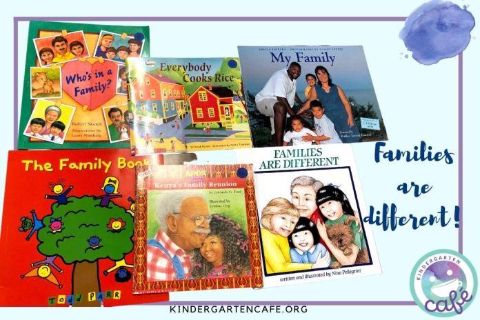 family unit for kindergarten books