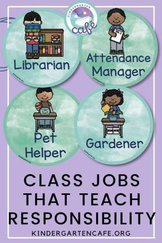ideas for classroom jobs that teach responsibility