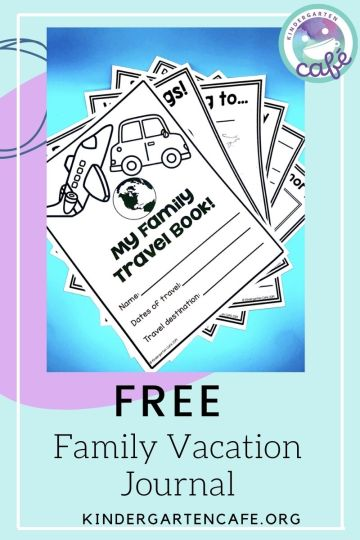 Motivating a student free family travel journal