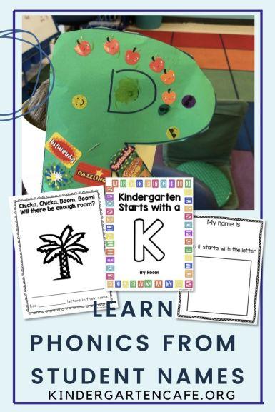 kindergarten name unit phonics
