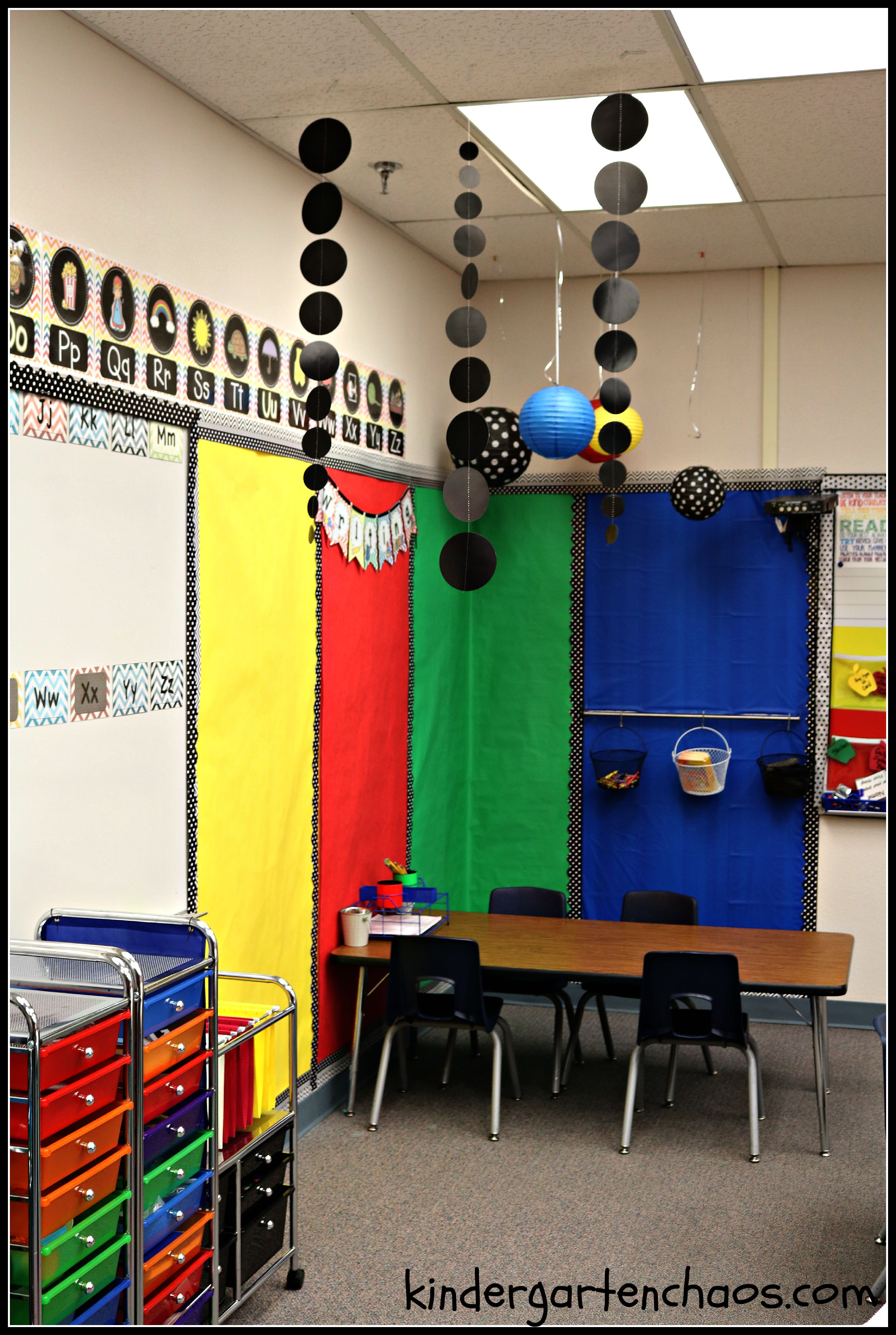 My Kindergarten Classroom Reveal Organization Decorations Student Areas  More