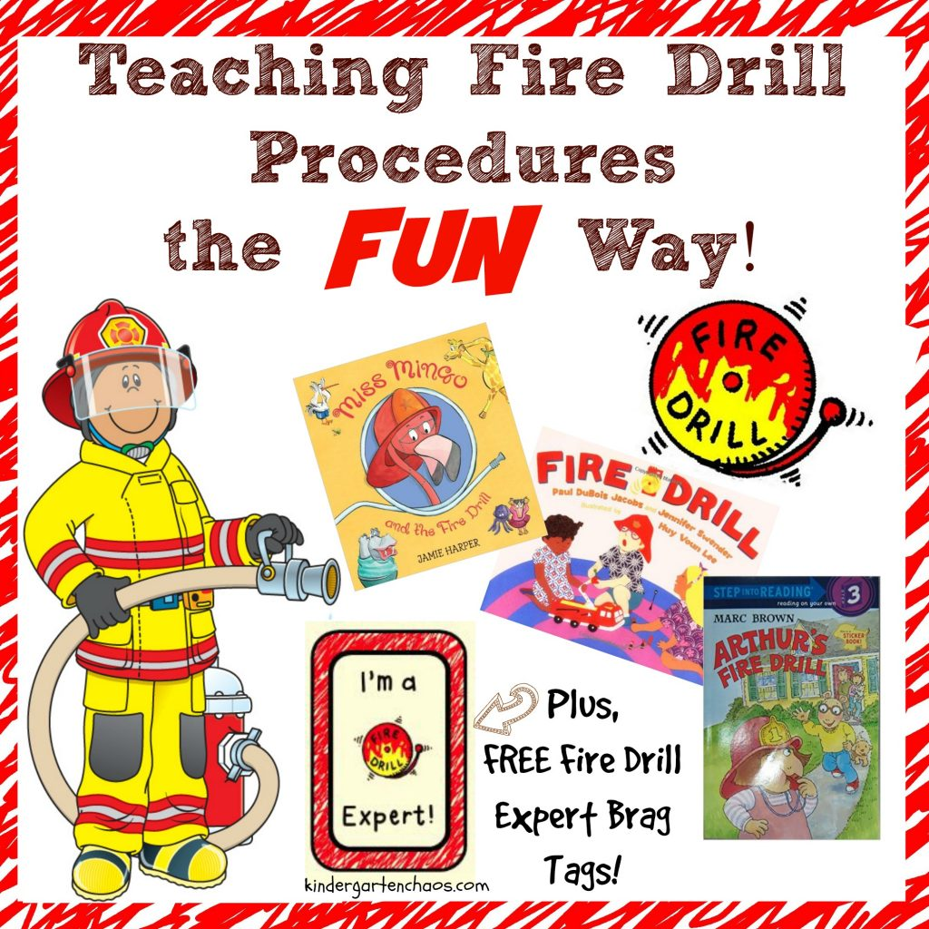 Teaching Fire Drill Procedures The Fun Way For The Classroom