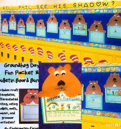 Groundhog Day Activities: 6 Ideas for Fun in K-1 - Kindergarten Korner [ 960 x 960 Pixel ]