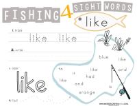 All Worksheets  Sight Word We Worksheets For Kindergarten ...