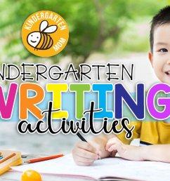 Kindergarten Writing Printables - Kindergarten Mom [ 690 x 1200 Pixel ]