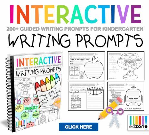 small resolution of Kindergarten Writing Printables - Kindergarten Mom