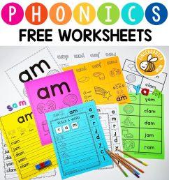 Phonics Worksheets - Kindergarten Mom [ 1024 x 987 Pixel ]