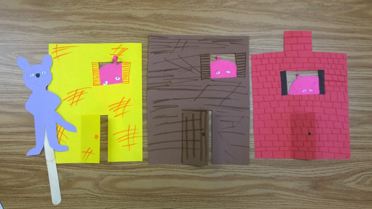 Three Little Pigs – Story Retelling Craftivity