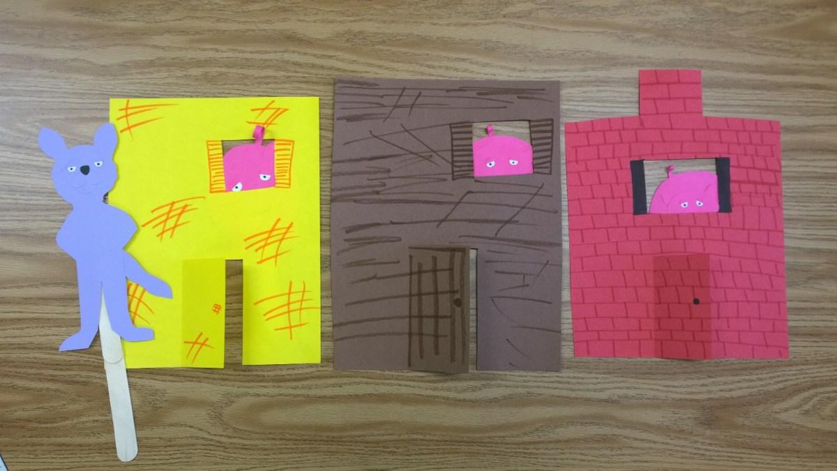 Three Little Pigs - Story Retelling Craftivity