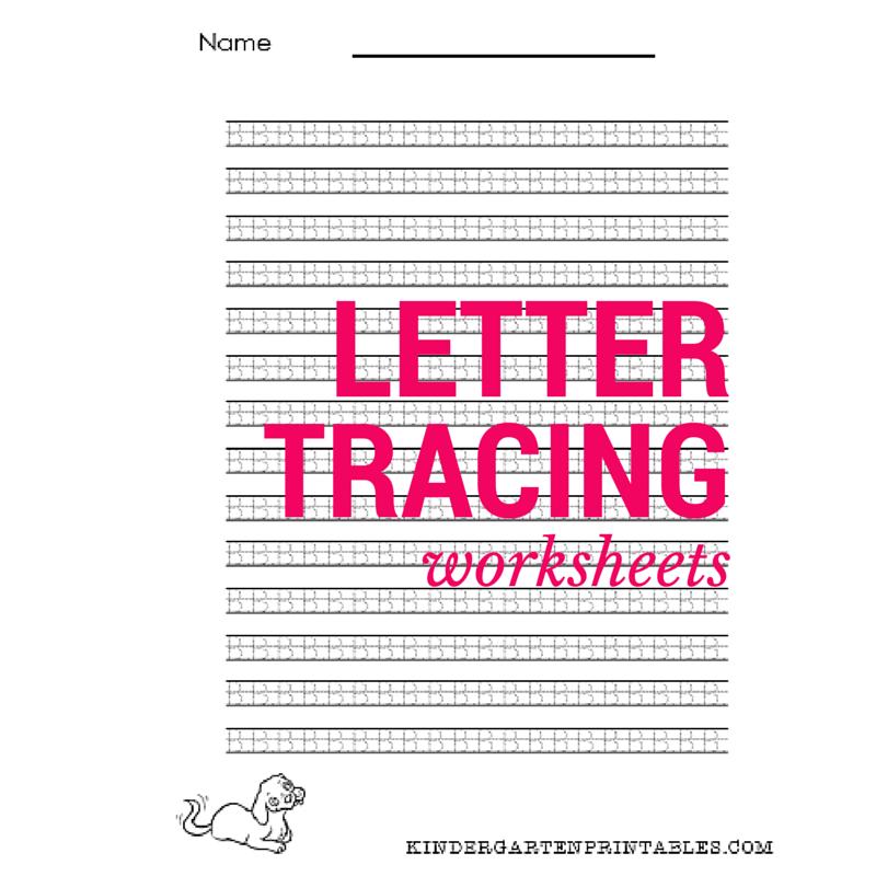 Small letter tracing worksheet - Kindergarten Printables