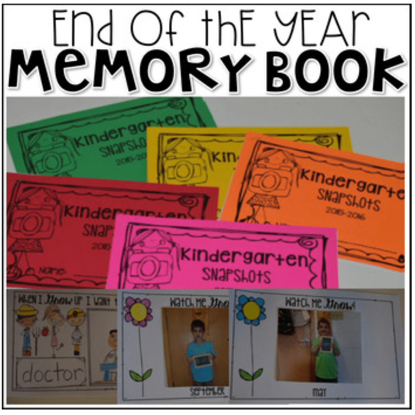 End Of The Year Memory Book Mini