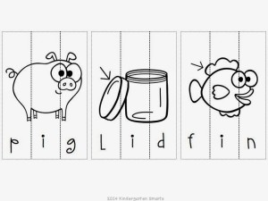 Playful Puzzles! Math and Literacy Practice [with a