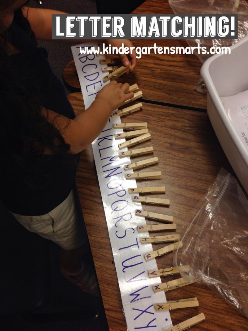 Letter Matching by Kindergarten Smarts