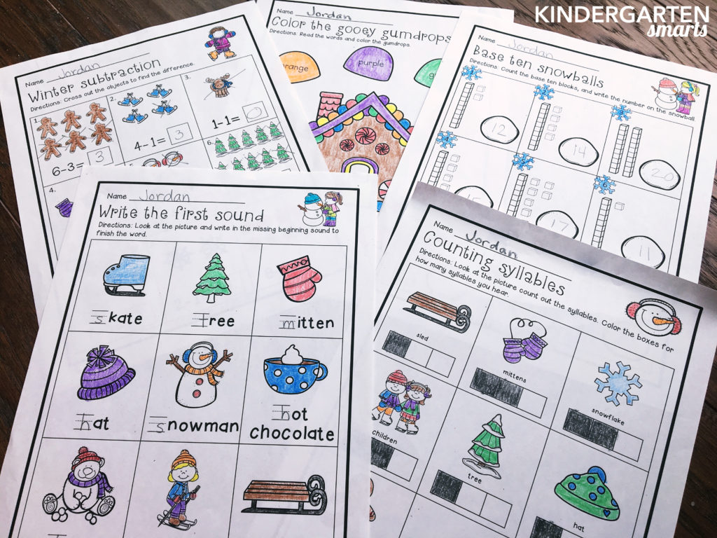 Winter Printables With A Freebie