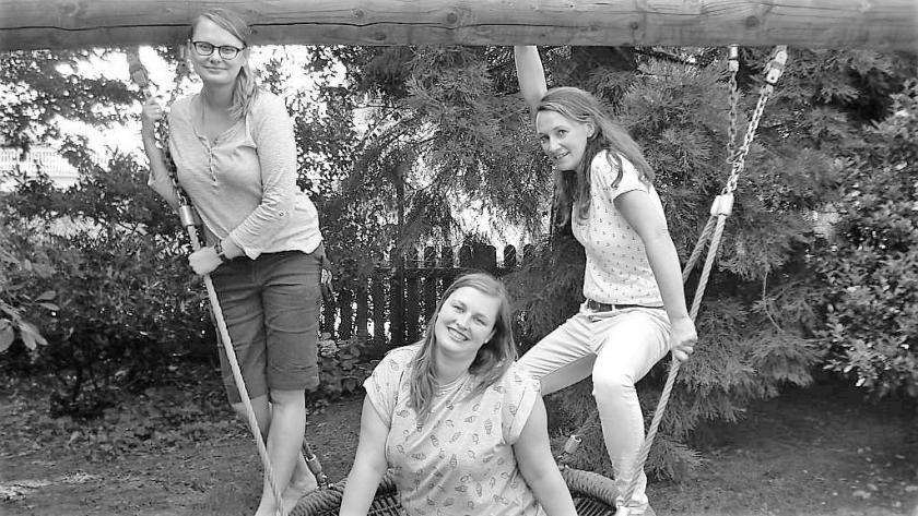 v.l.n.r.: Angelika, Yvonne und Karin