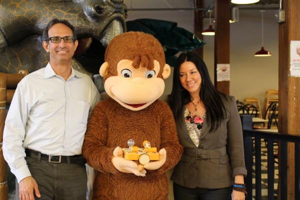 Mitch Rosenberg, KinderLab Robotics, Curious George with KIBO and Susan Leger Ferraro, Imajine That