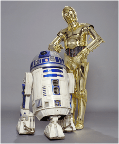 R2-D2 and C-3PO Star Wars (1977)